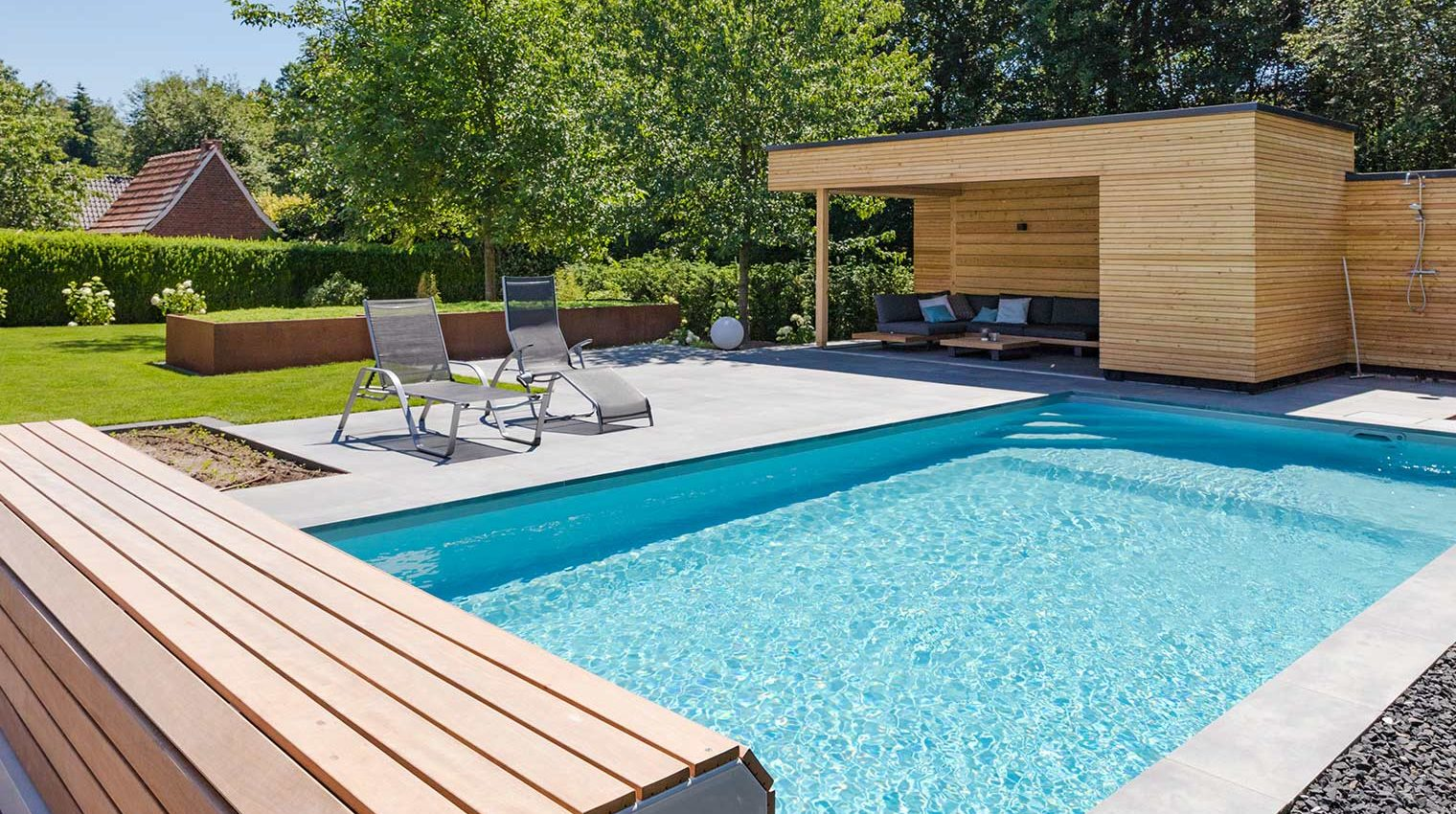 Pool oder Schwimmteich