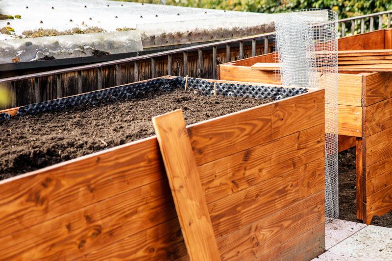 Hochbeet bauen